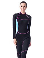 cheap -LIFURIOUS Women's 2mm Diving Suit Solid Colored / High Elasticity