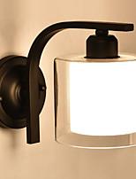 Недорогие -Настенные светильники Металл настенный светильник 220-240Вольт 40 W