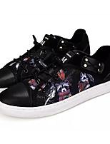cheap -Men's Canvas Summer Comfort Sneakers Color Block White / Black