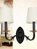 economico -Nuovo design Moderno / Contemporaneo Lampade da parete Camera da letto / Ufficio Metallo Luce a muro 220-240V