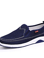 cheap -Men's Shoes Canvas Summer Comfort Loafers & Slip-Ons Dark Blue / Light Blue