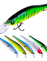 cheap -6 pcs pcs Fishing Lures Hard Bait Plastic Outdoor Bait Casting / Lure Fishing / General Fishing