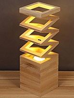 abordables -Moderne / Contemporain Décorative Lampe de Table Pour Bois / Bambou 220-240V