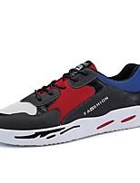 cheap -Men's Mesh Spring &  Fall Comfort Sneakers Black / Yellow / Blue