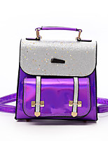 cheap -Women's Bags PU(Polyurethane) Backpack Crystal Brooch Red / Purple / Silver
