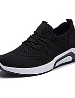cheap -Men's Light Soles Knit Summer Comfort Sneakers Black / Gray