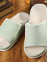 cheap -Women's Slippers House Slippers Ordinary PU(Polyurethane) solid color