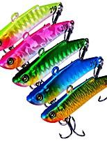 abordables -5 pcs pcs leurres de pêche Poissons nageur / Leurre dur Plastique Extérieur Pêche d'appât / Pêche au leurre / Pêche générale