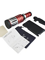 cheap -Mobile Phone Lens Long Focal Lens 10X and above 0.01 m 70 ° Lens with Case / Lens with Stand