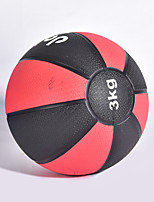 cheap -Medicine Ball With 1 pcs 15 cm Diameter Rubber Strength Training, Core Strength, Balance And Coordination, Muscle Building For Exercise & Fitness / Gym / Workout