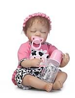 Недорогие -NPKCOLLECTION Куклы реборн Девочки 18 дюймовый Винил Детские Девочки Подарок