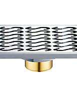 Недорогие -Слив Новый дизайн / Многофункциональный Modern Латунь / Нержавеющая сталь 1шт Односпальный комплект (Ш 150 x Д 200 см) Установка на полу