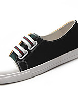 cheap -Women's Shoes PU(Polyurethane) Summer Comfort Sneakers Flat Heel Round Toe Black / Red / Blue
