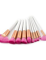 preiswerte -10-Pack Makeup Bürsten Professional Make-up Nylonfaser Professionell Holz / Bambus