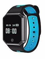 cheap -Smartwatch QW11 for Android 4.3 and above / iOS 7 and above Heart Rate Monitor / Waterproof / Blood Pressure Measurement / GPS / Long Standby Timer / Pedometer / Call Reminder / Activity Tracker