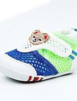 Недорогие -Девочки Обувь Сетка Лето Удобная обувь Сандалии для Синий / Розовый