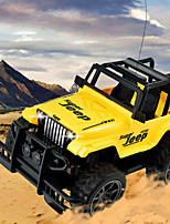 cheap -RC Car 4CH 2.4G Off Road Car / Drift Car 1:24 KM/H