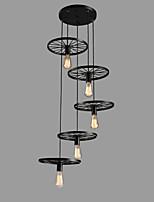 abordables -5 lumières Mini Lampe suspendue Lumière d'ambiance - Style mini, 110-120V / 220-240V Ampoule non incluse