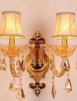 economico -Cristallo Vintage Lampade da parete Salotto / Ingresso Metallo Luce a muro 220-240V