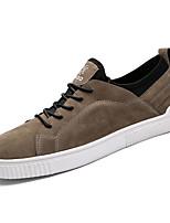 economico -Per uomo Scarpe PU (Poliuretano) Primavera / Autunno Comoda Sneakers Nero / Rosso / Cachi