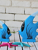 cheap -2pcs Wood European StyleforHome Decoration, Home Decorations Gifts