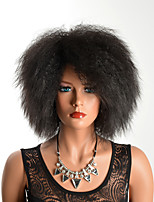 cheap -Synthetic Wig Curly Layered Haircut Synthetic Hair Party Black / Brown Wig Women's Short Capless