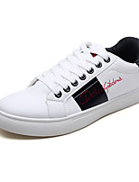 cheap -Men's Shoes PU(Polyurethane) Summer Comfort Sneakers White / Black / Red