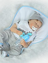 cheap -NPKCOLLECTION Reborn Doll Baby Boy 24 inch Silicone Kid's Boys' Gift