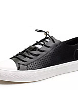 cheap -Men's PU(Polyurethane) Spring / Summer Comfort Sneakers White / Black
