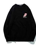 cheap -Men's Basic Sweatshirt - Letter, Print