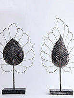 cheap -2pcs Resin / Metal Simple StyleforHome Decoration, Home Decorations Gifts