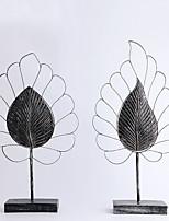 abordables -2pcs Résine / Métal Style SimpleforDécoration d'intérieur, Décorations pour la maison Cadeaux