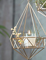 cheap -Modern / Contemporary / Simple Style Iron Candle Holders Candlestick 1pc, Candle / Candle Holder