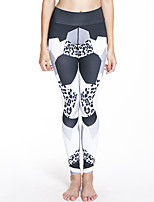 cheap -Women's Daily Sporty Legging - Geometric Mid Waist