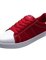 economico -Per uomo Scarpe Gomma Primavera Comoda Sneakers Nero / Grigio / Rosso