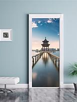 abordables -Calcomanías Decorativas de Pared / Pegatinas de puerta - Holiday pegatinas de pared Formas / 3D Sala de estar / Dormitorio