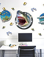 cheap -Decorative Wall Stickers - Plane Wall Stickers Animals Living Room / Bedroom
