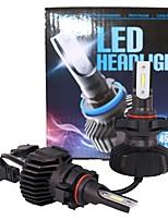 abordables -2pcs H16 Automatique Ampoules électriques 90 W LED Intégrée 9000 lm 2 LED Feu Antibrouillard For Universel Universel Universel