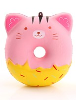 cheap -Squeeze Toy / Sensory Toy / Stress Reliever Donuts Stress and Anxiety Relief / Decompression Toys Poly urethane 1 pcs Children's All Gift