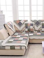 baratos -almofada do sofá Geométrica Estampado Algodão Capas de Sofa