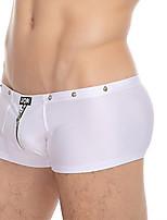 cheap -Men's Boxers Underwear / Briefs Underwear Solid Colored Mid Waist