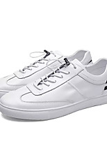 cheap -Men's Canvas Summer Comfort Sneakers White / Black