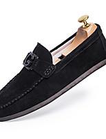 abordables -Homme Chaussures Coton Eté Moccasin Mocassins et Chaussons+D6148 Noir / Rouge / Kaki