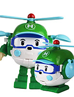 cheap -Toy Car Helicopter Transformable Plastic Shell All Children's Gift 1 pcs
