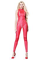 abordables -Disfrace de Cosplay Zentai Disfraces de Cosplay Rojo Color sólido Vestido / Zentai / Traje de Gato Espándex / Lycra Spandex Todo Navidad / Halloween / Carnaval