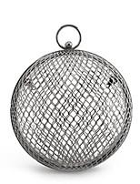 preiswerte -Damen Taschen Aleación Abendtasche Knöpfe Silber / Rosa / Silber Gray