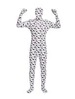"""Недорогие -Костюмы на все тело """"зентай"""" с рисунком / Косплэй Kостюмы Костюмы зентай Косплэй костюмы Черный Противотуманное освещение Лайкра / Эластик Универсальные Хэллоуин / Карнавал / Маскарад"""
