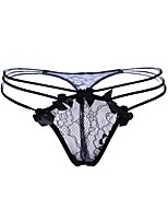 abordables -Femme strings & Tangas Jacquard Taille basse