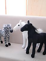 cheap -Horse / Zebra Stuffed Animal Plush Toy Animals / Lovely Acrylic / Cotton Gift 1 pcs