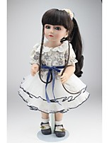 cheap -NPKCOLLECTION Ball-joined Doll / BJD Country Girl 18 inch Full Body Silicone / Silicone - Artificial Implantation Blue Eyes Kid's Girls' Gift